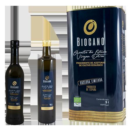Biocano - Aceite de oliva virgen extra